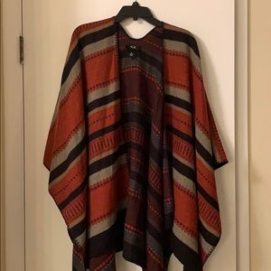 Cute poncho perfect for the fall